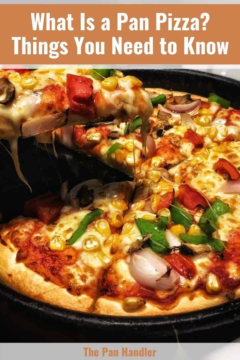 what is a pan pizza from pizza hut
