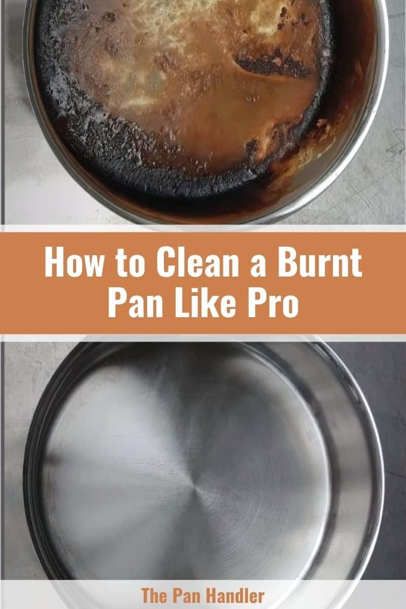 Clean a Burnt Pan
