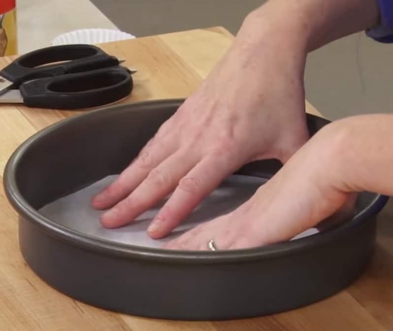 grease a pan