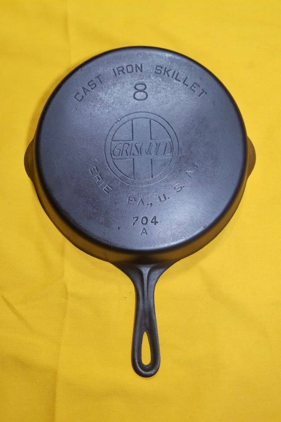 griswold iron skillet