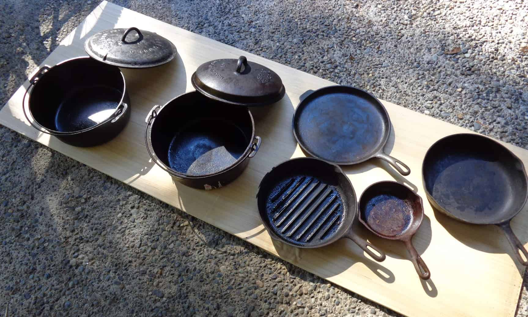 griswolds cast iron skillets
