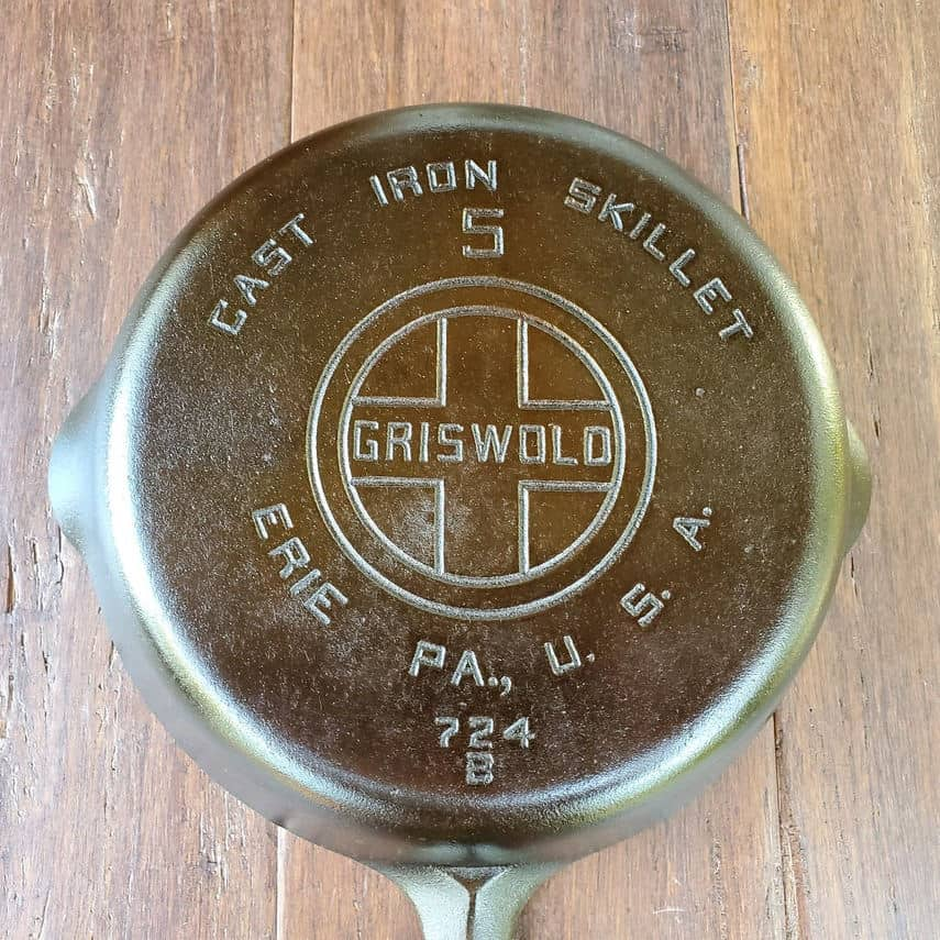 how old is my griswold skillet