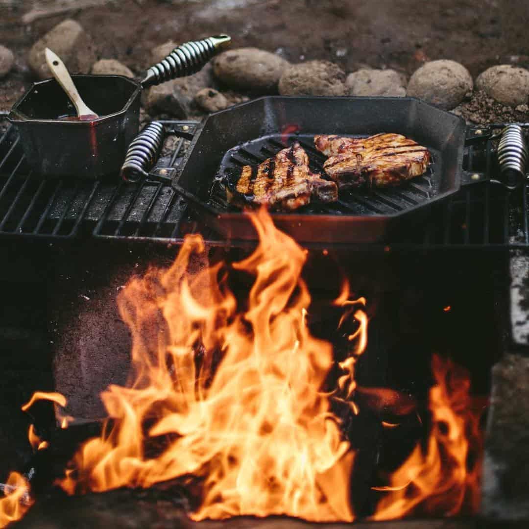 pan grilling