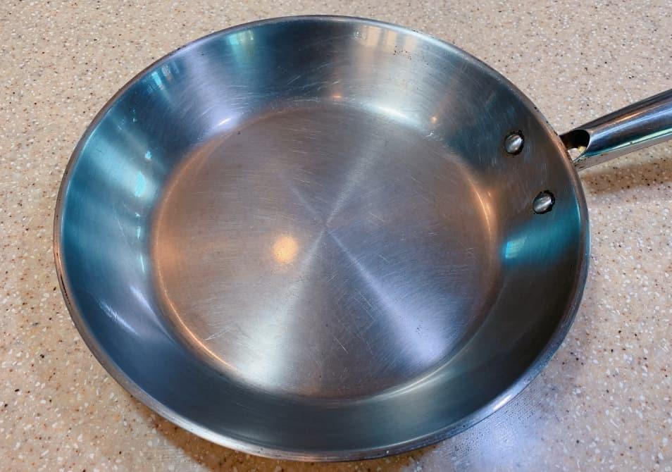 season stainless steel pans