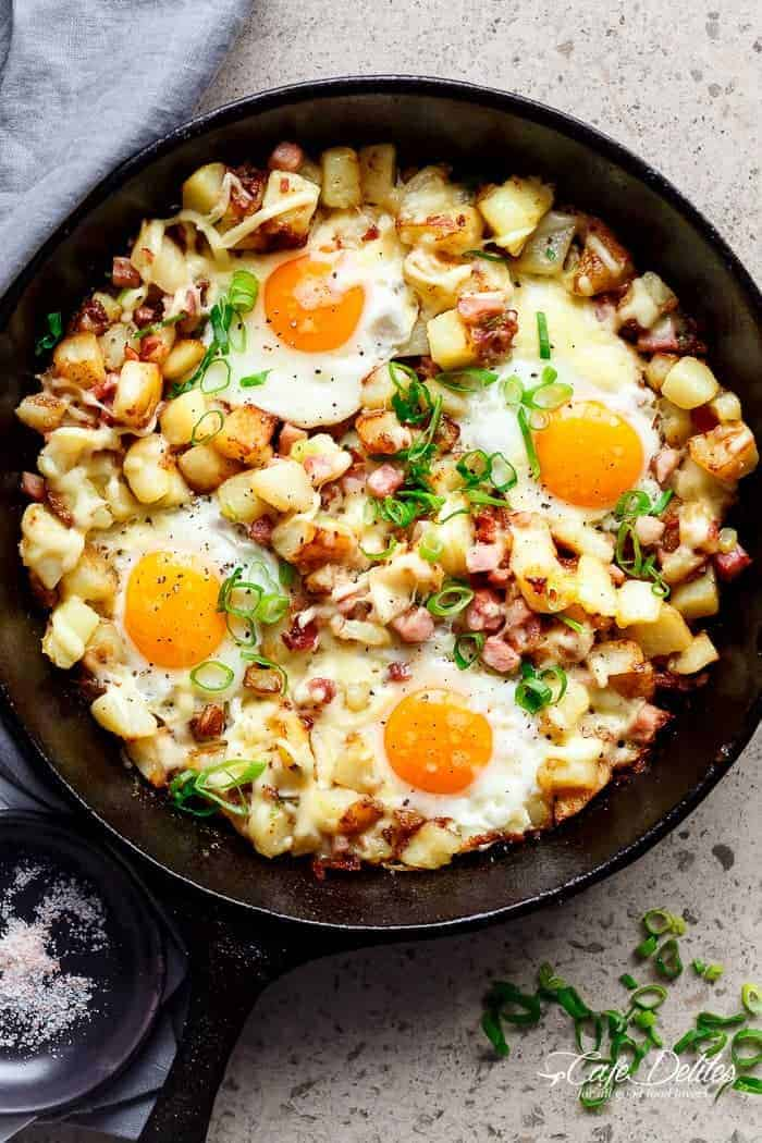 Cast-Iron Breakfast Skillet