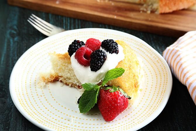 Old-Fashioned Skillet Cake
