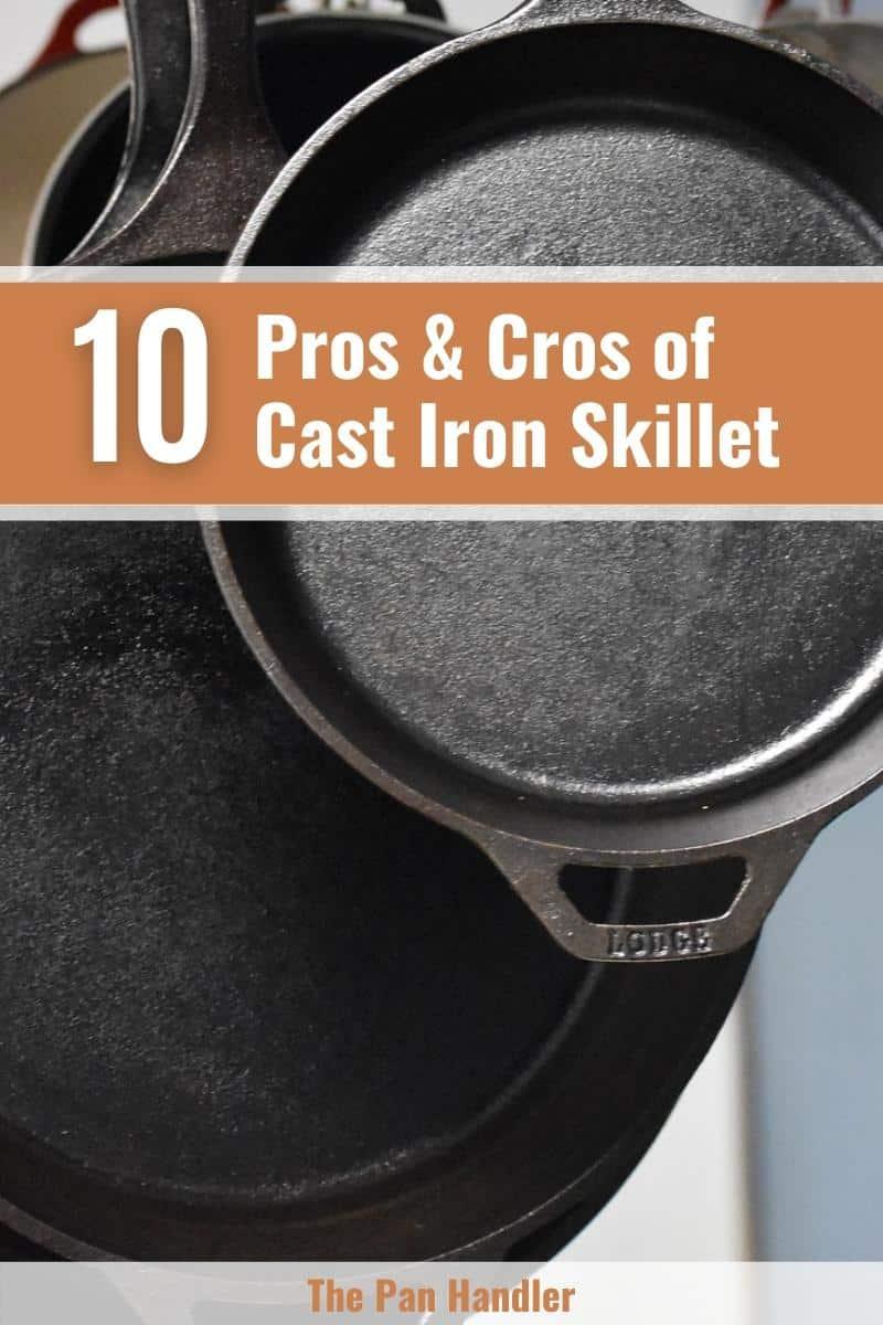 advantages of cast iron pan
