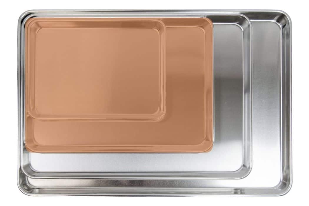 half sheet pan size