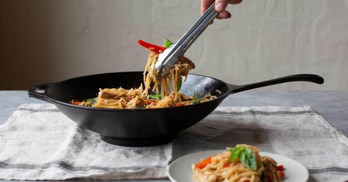 Drunken Rice Noodles with Pork