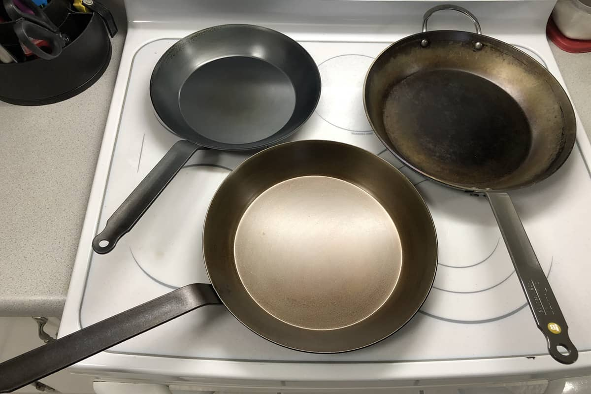 matfer black steel pans