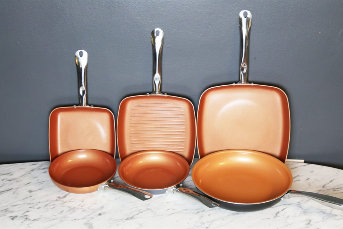are red copper pans toxic