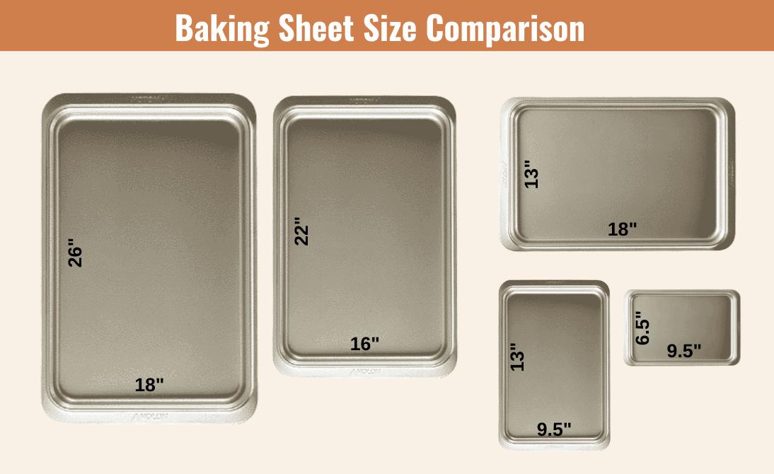 sheet pan sizes chart