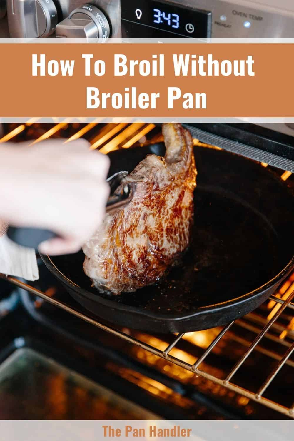 broiling pan substitute