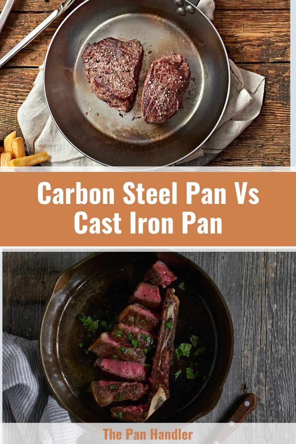 difference between cast iron and steel