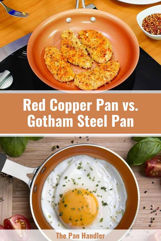 gotham red copper pans