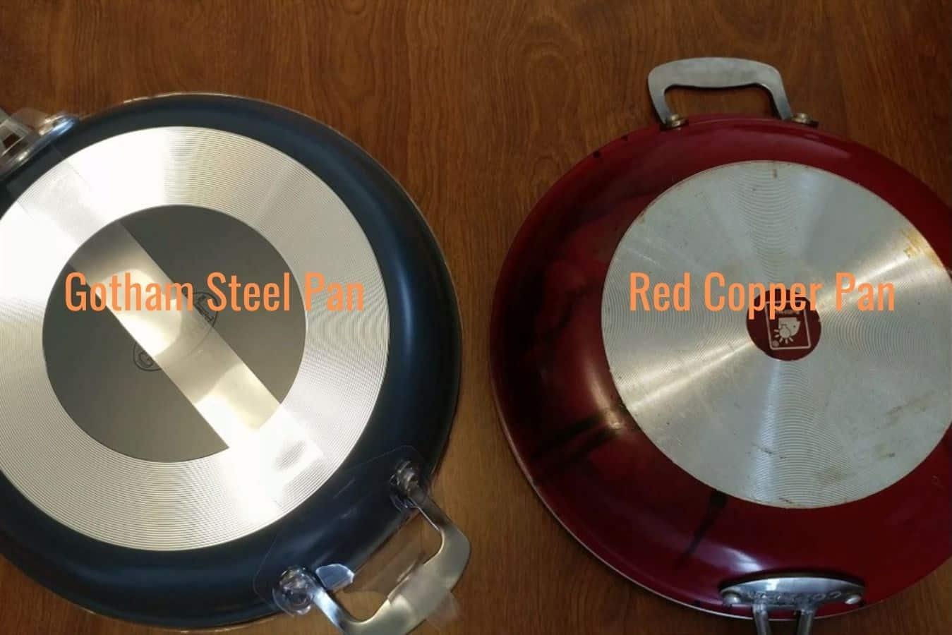 gotham steel vs red copper pan1