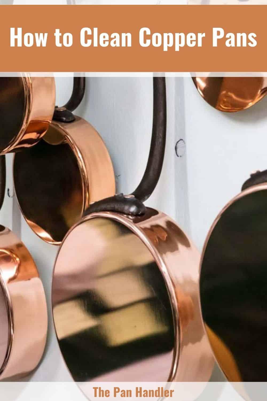 how do you clean copper pots