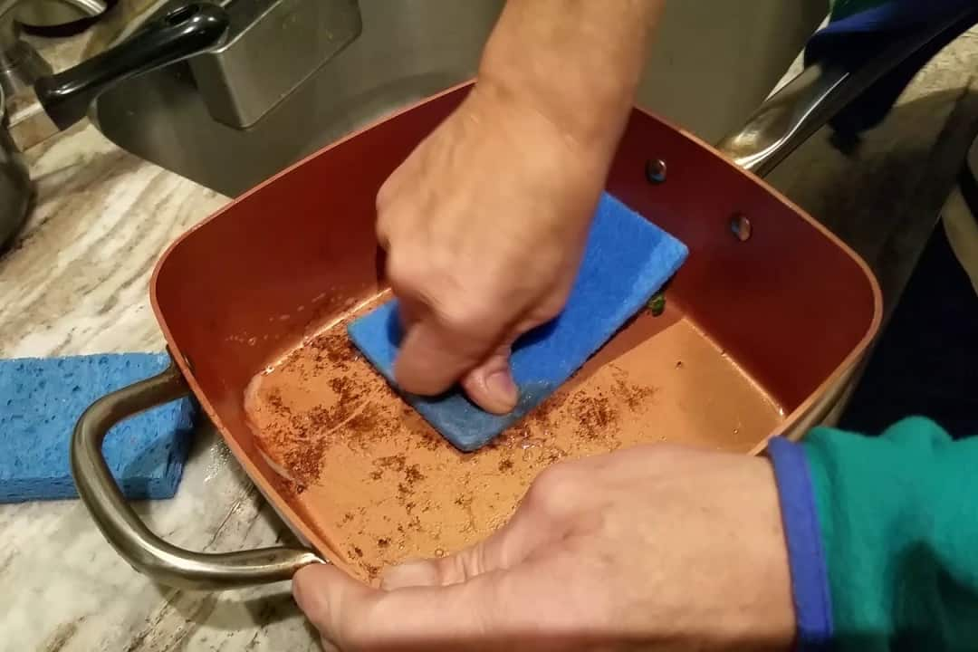 how to clean a copper pot