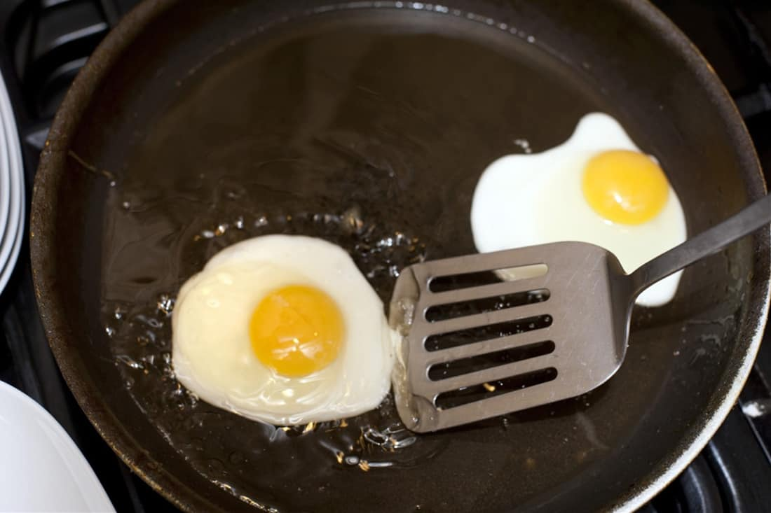 how to fix a non stick pan