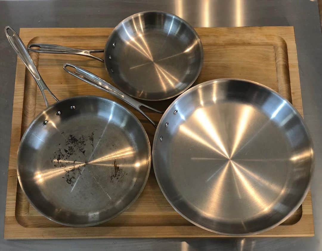 how to use stainless steel pan without sticking