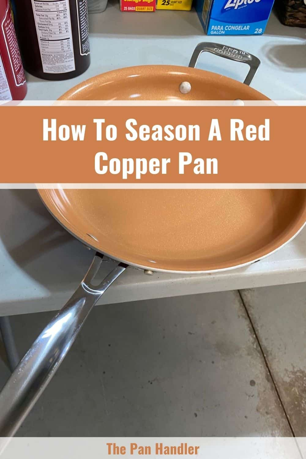 red copper pan sticking