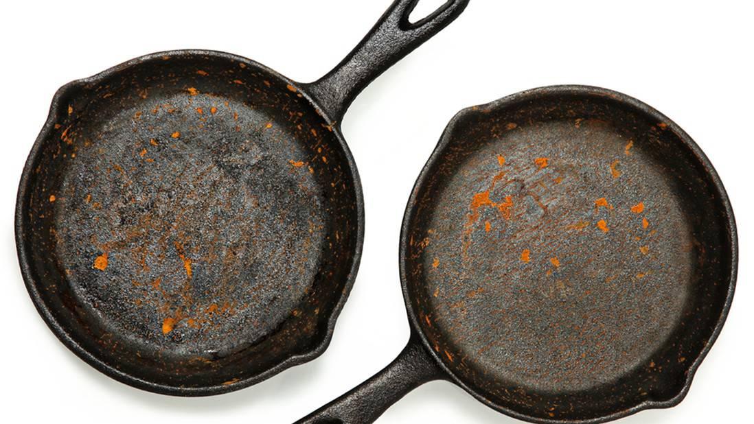 rust pan