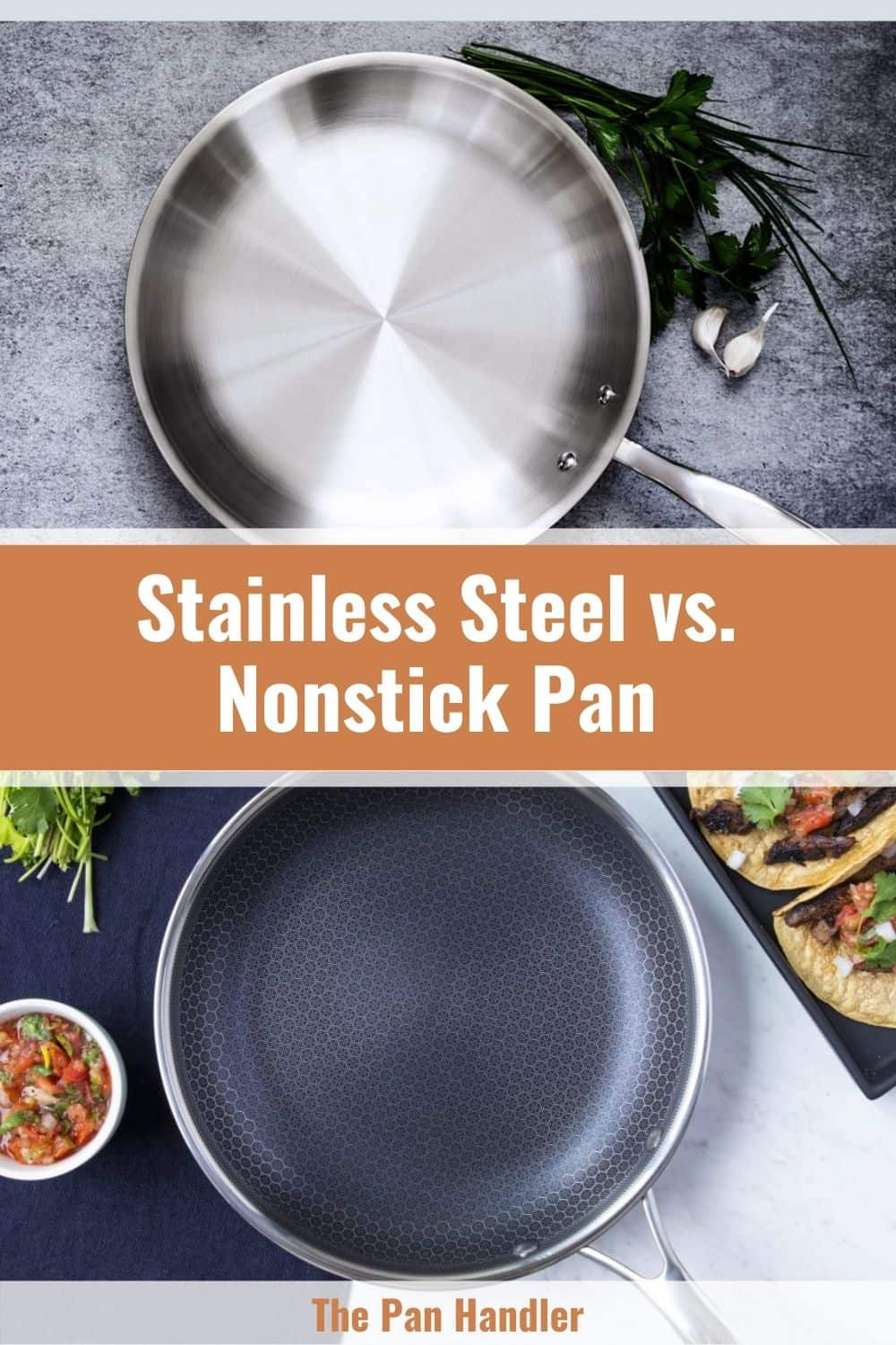 stainless steel or nonstick