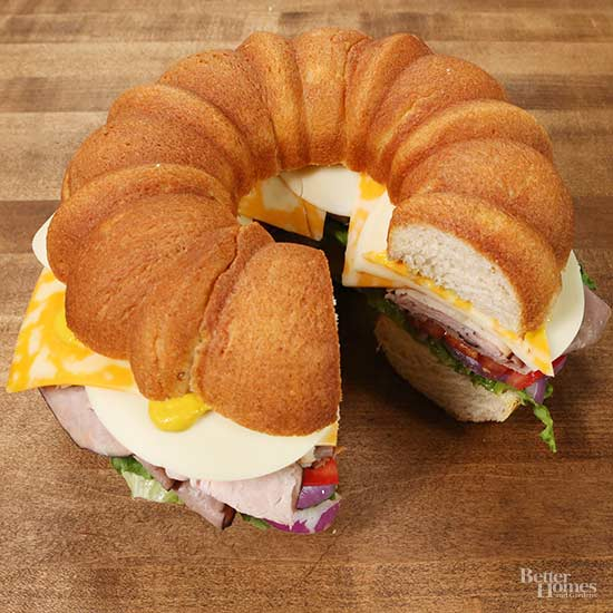 Cold Cut Bundt Sandwich