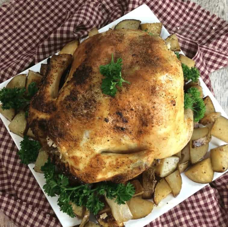 Gluten Free Bundt Pan Chicken