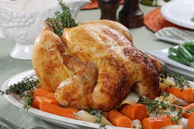 Herb Roasted Bundt Pan Chicken