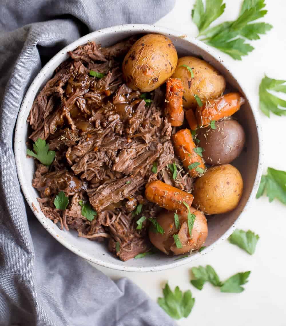 Pot Roast in Cabernet