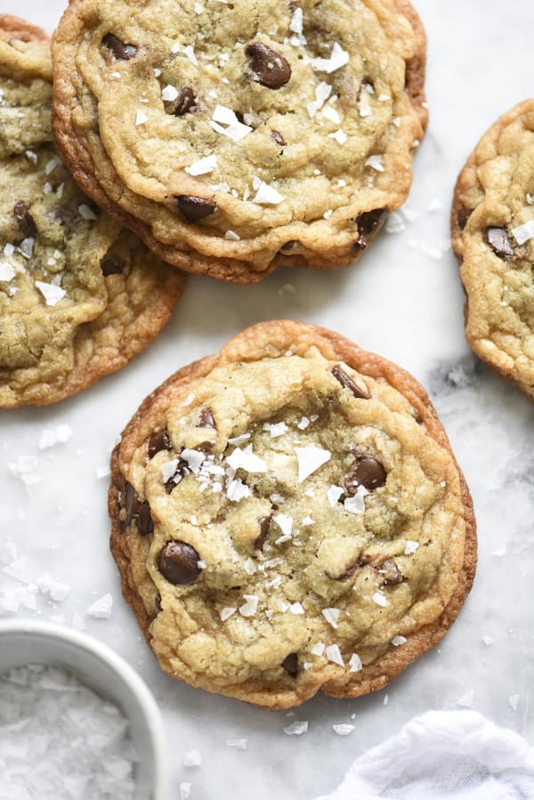 Salted Caramel Chocolate Monster Cookie