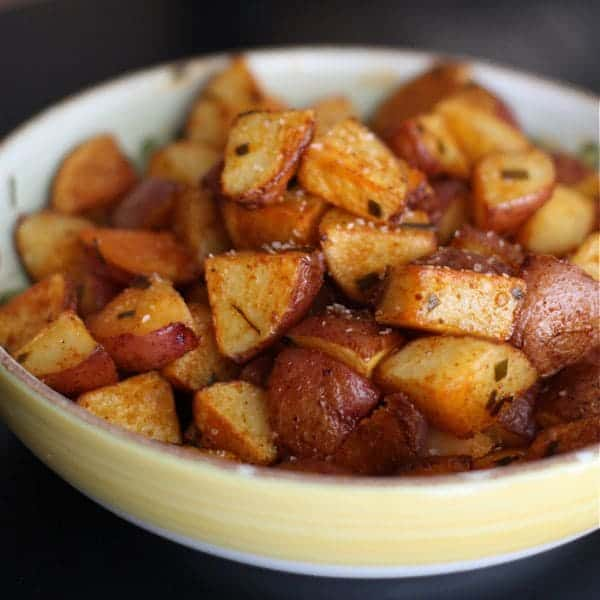 Savory Roasted Red Potatoes for Two