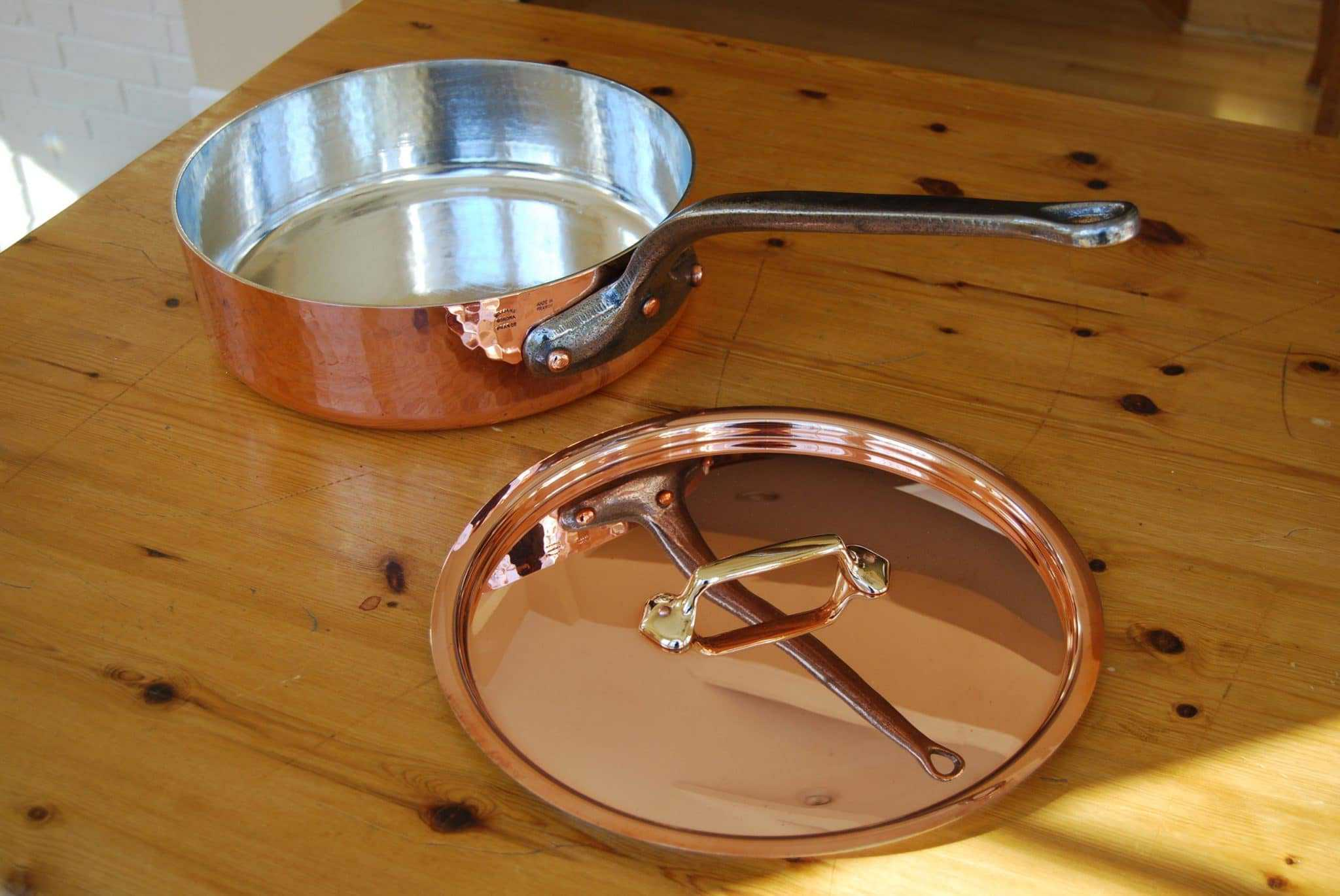 Tin Lining Copper Pans