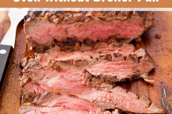 5 Steps To Cook London Broil in Oven Without Broiler Pan