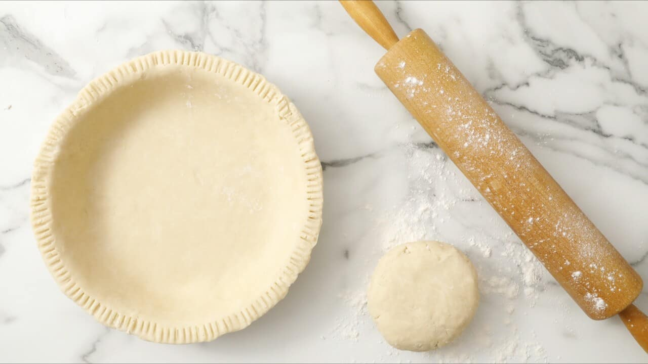 how to prevent pie crust from sticking to pan