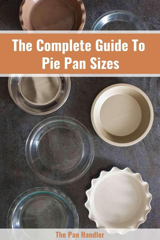 pie pan sizes