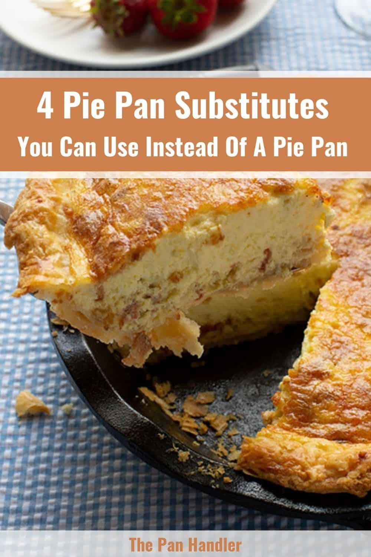pie pan substitute