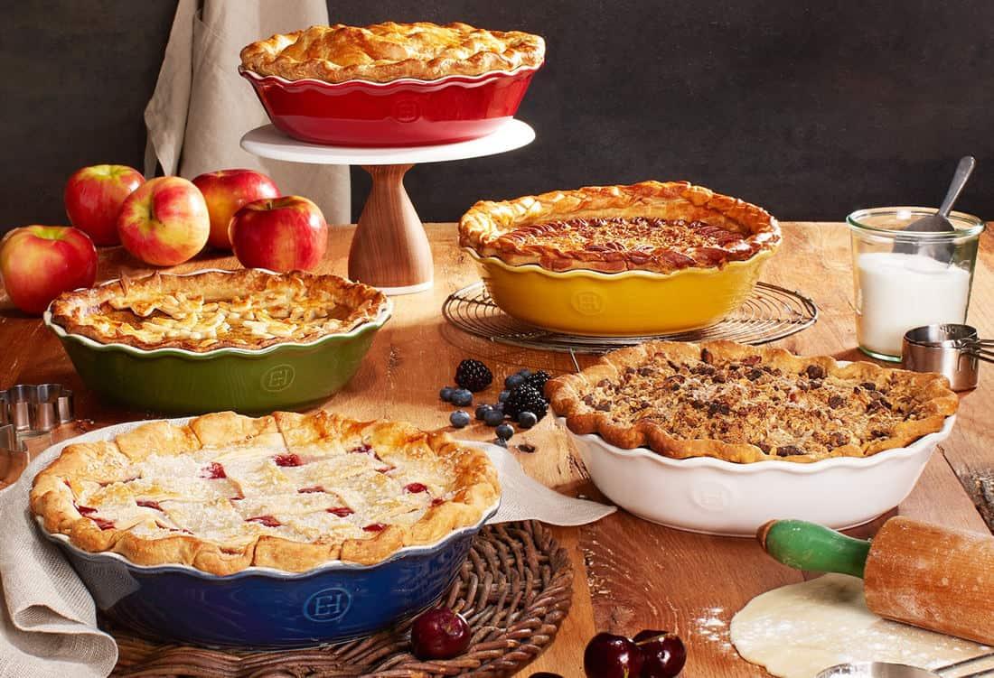 pie tin sizes