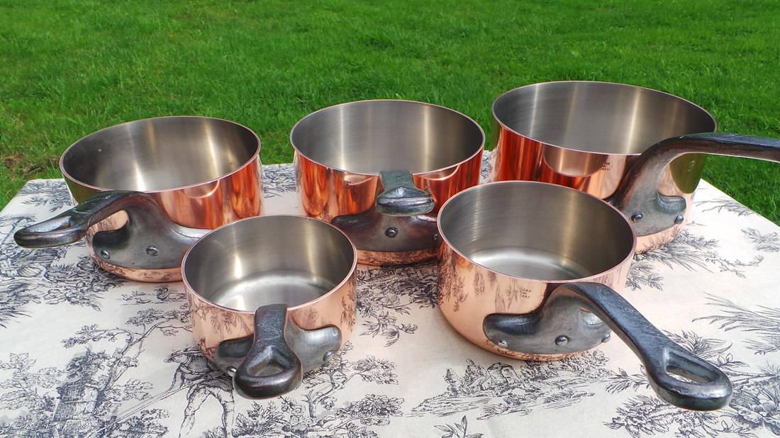 seasoning copper pan