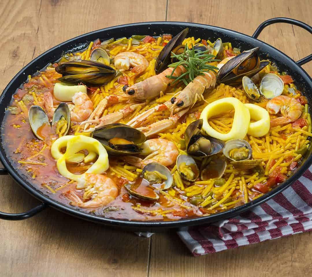 stove top paella